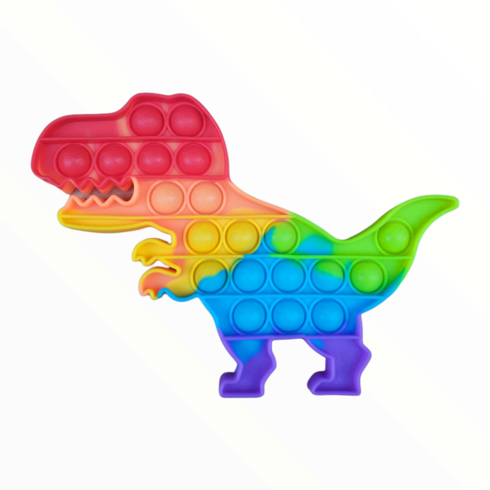 Brinquedo Anti-stress Pop It Fidget Toys - Dinossauro