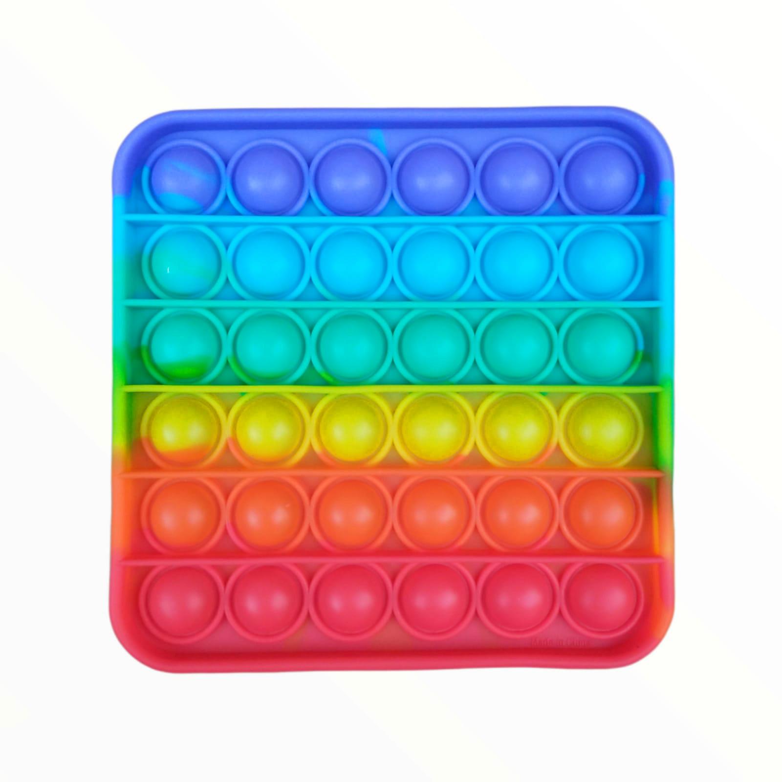 Brinquedo Anti-stress Pop It Fidget Toys - Quadrado