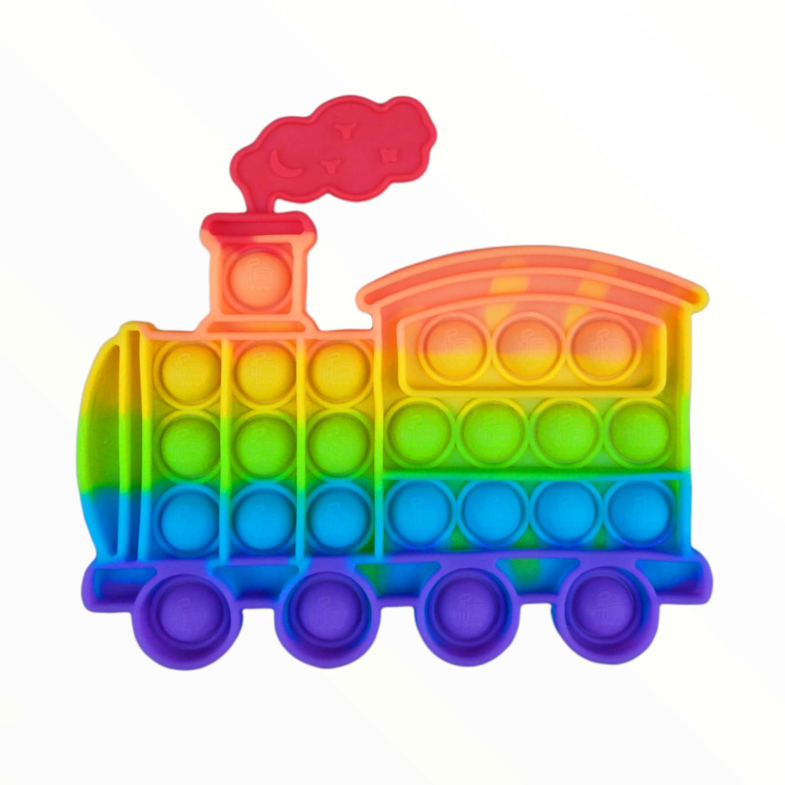 Brinquedo Anti-stress Pop It Fidget Toys - Trenzinho