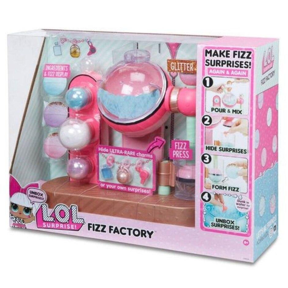 Brinquedo Fábrica De Bonecas L.O.L. Surprise! Fizz Factory - Candide