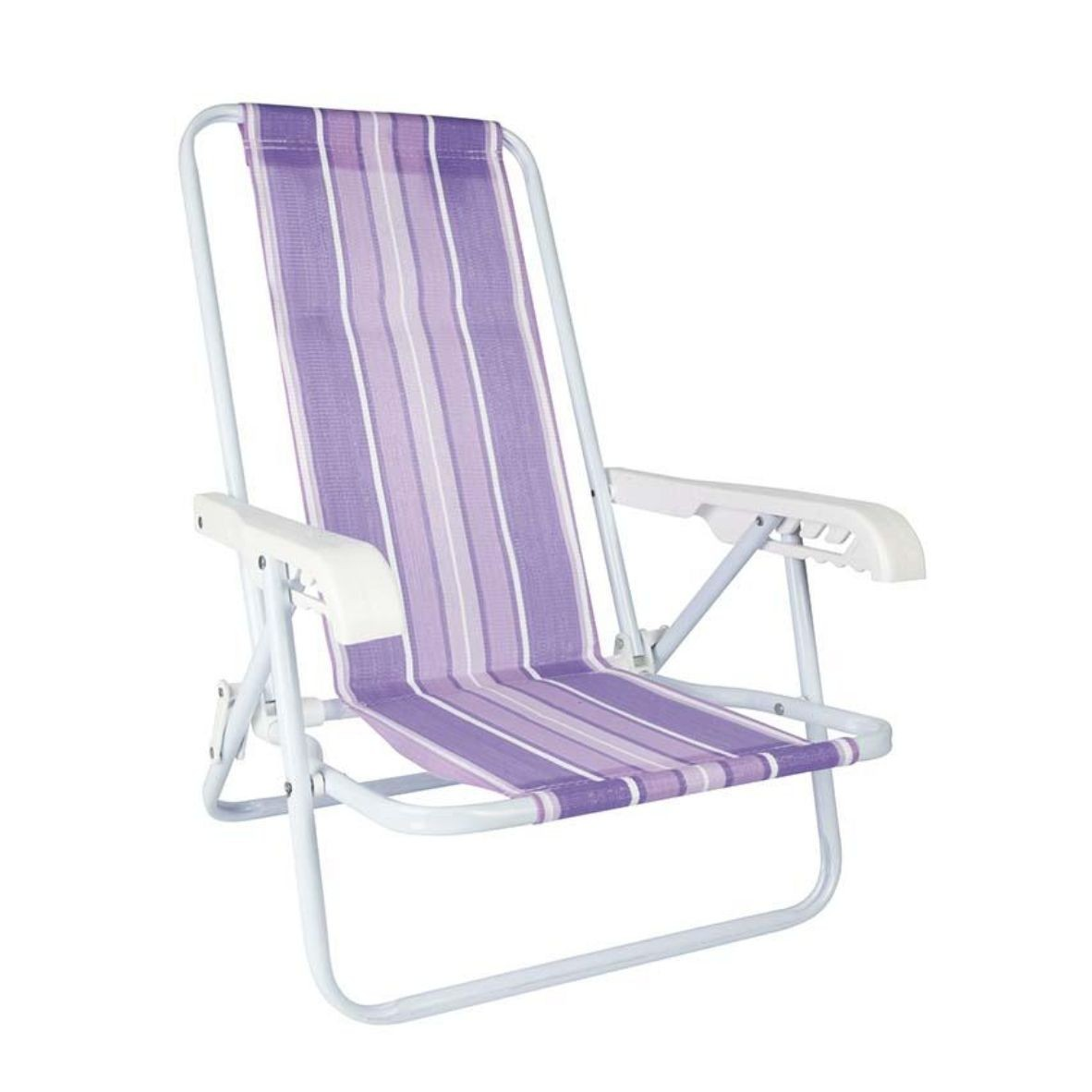 Cadeira Praia Infantil 4 Posições Lilás