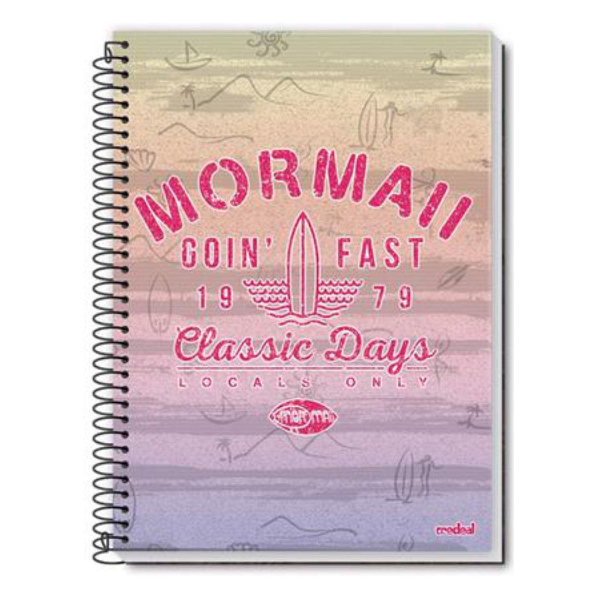 Caderno Moramaii 10 Matérias 200 Folhas