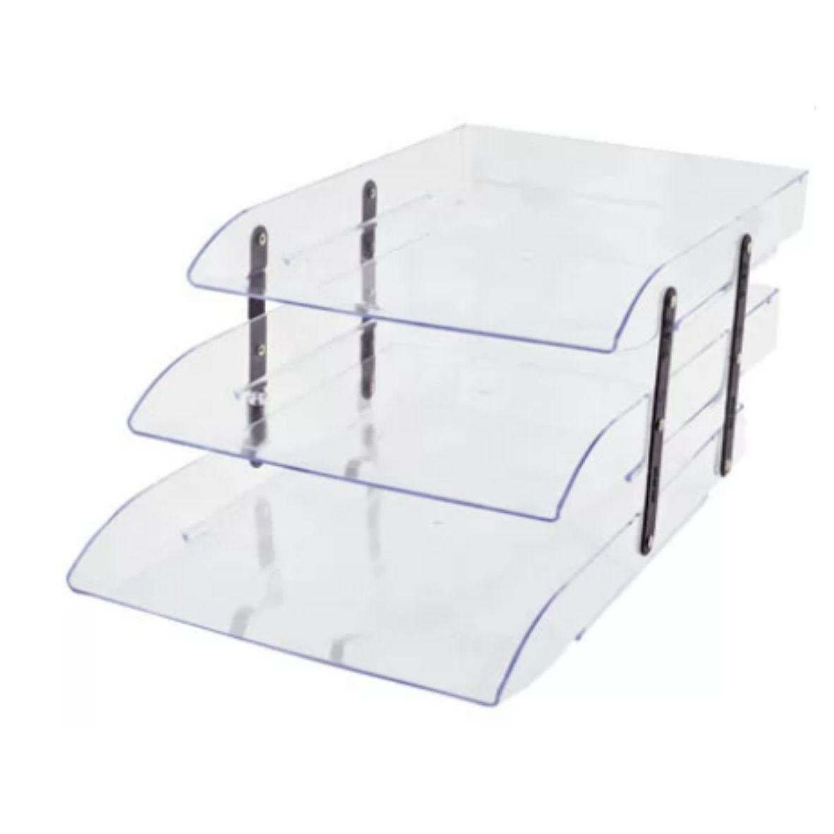 Caixa Correspondência Articulável Cristal Tripla - Dello