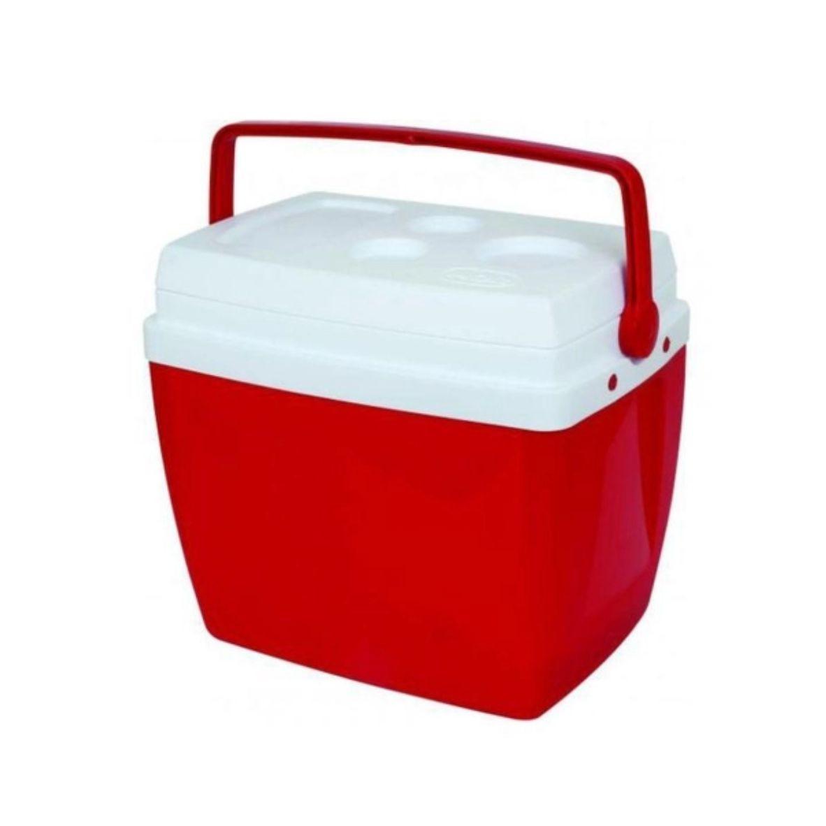 Caixa Térmica 34L Vermelha