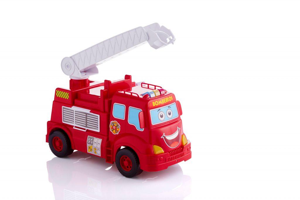 Caminhão Bombeiros em Ação com Som e Luz - Calesita
