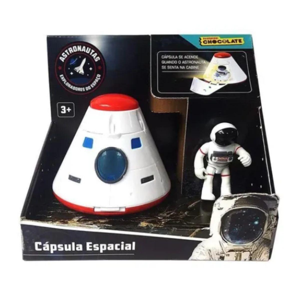 Cápsula Espacial Astronautas - Brinquedos Chocolate