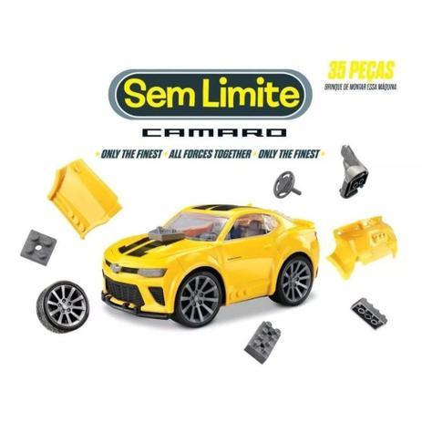 Carro Camaro Sem Limite com 35 peças - Roma