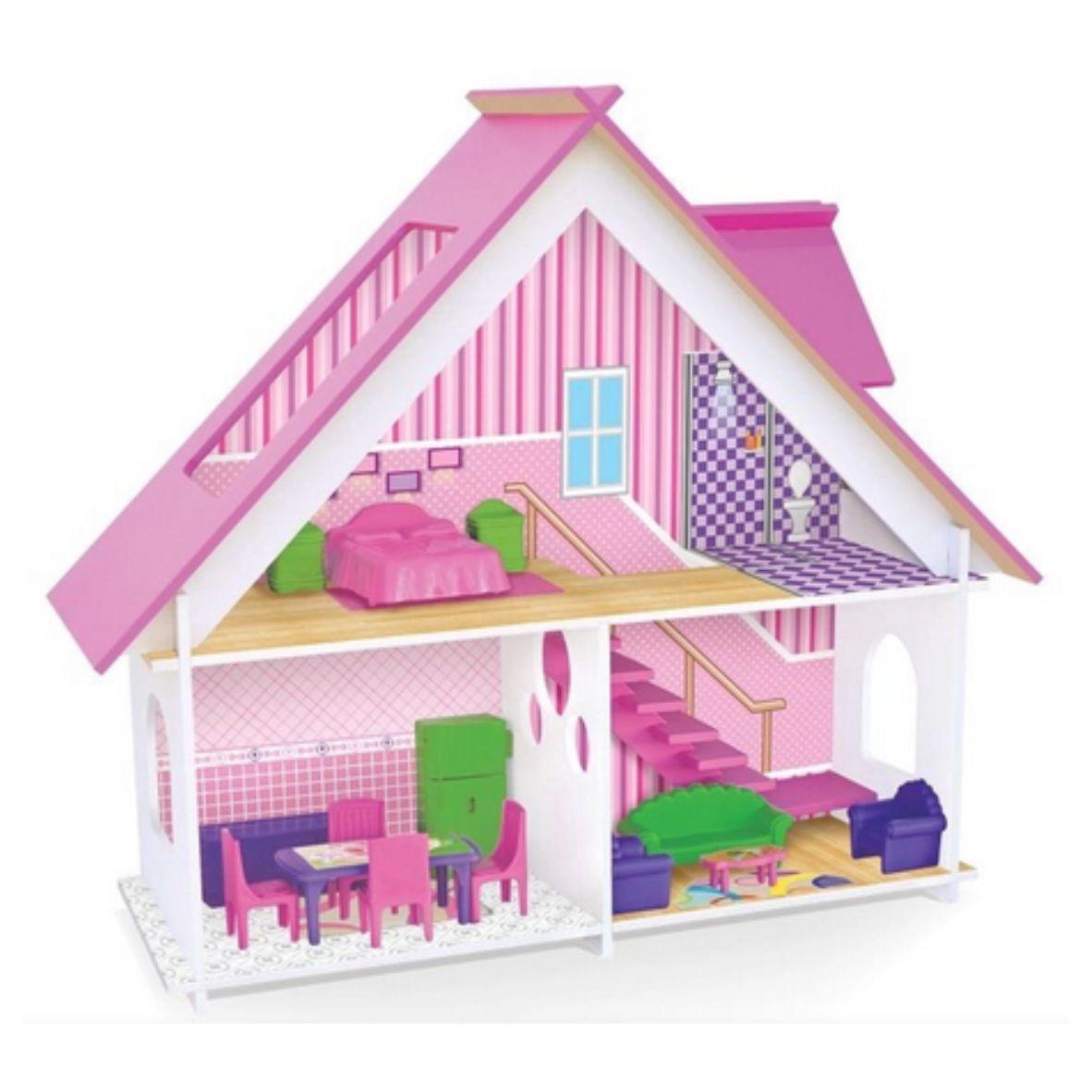 Casinha de Bonecas Sweet Home - Mobiliada