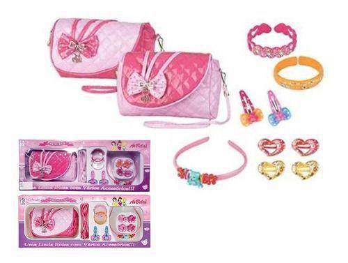 Coleção Princesa Uma Linda Bolsa com Vários Acessórios - Fênix