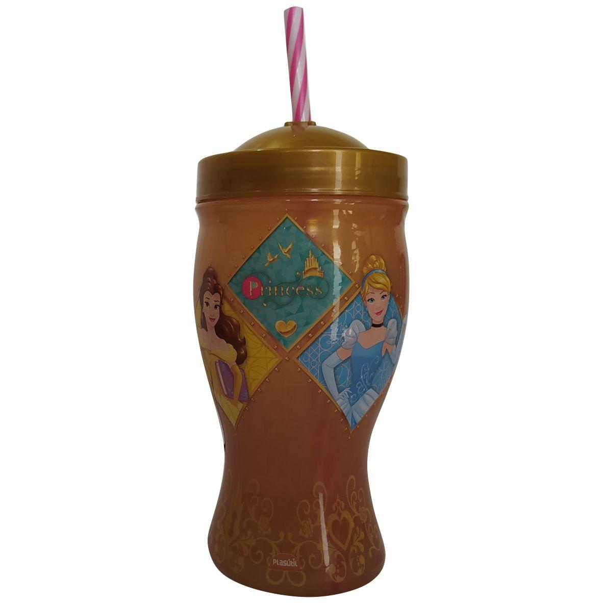 Copo Taça Princesa 500 ml - Plasútil