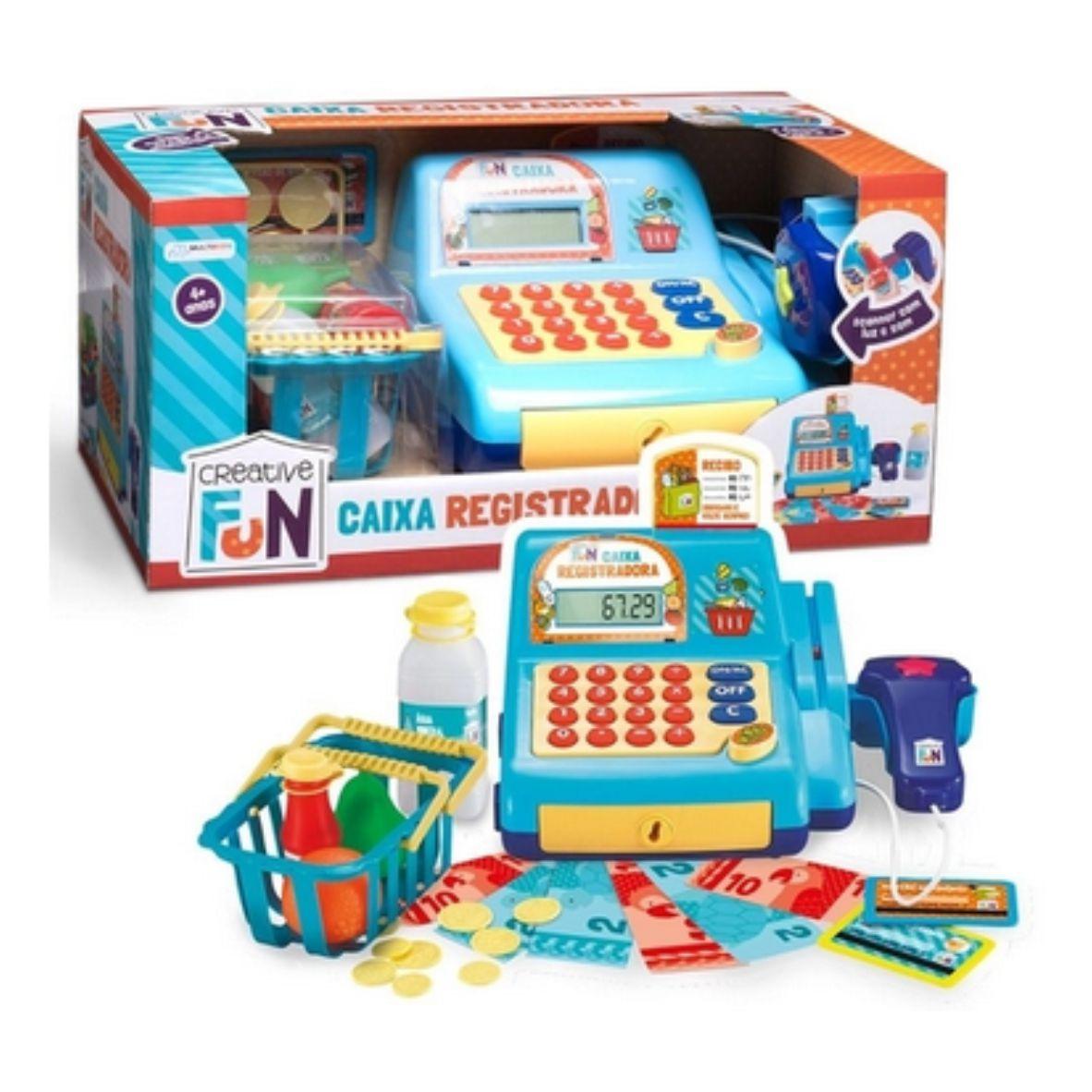 Creative Fun Caixa Registradora Azul