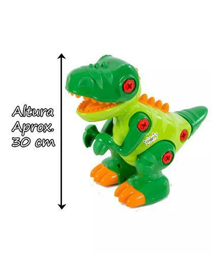 Dinossauro T-Rex com Som e Rodinhas - Maral