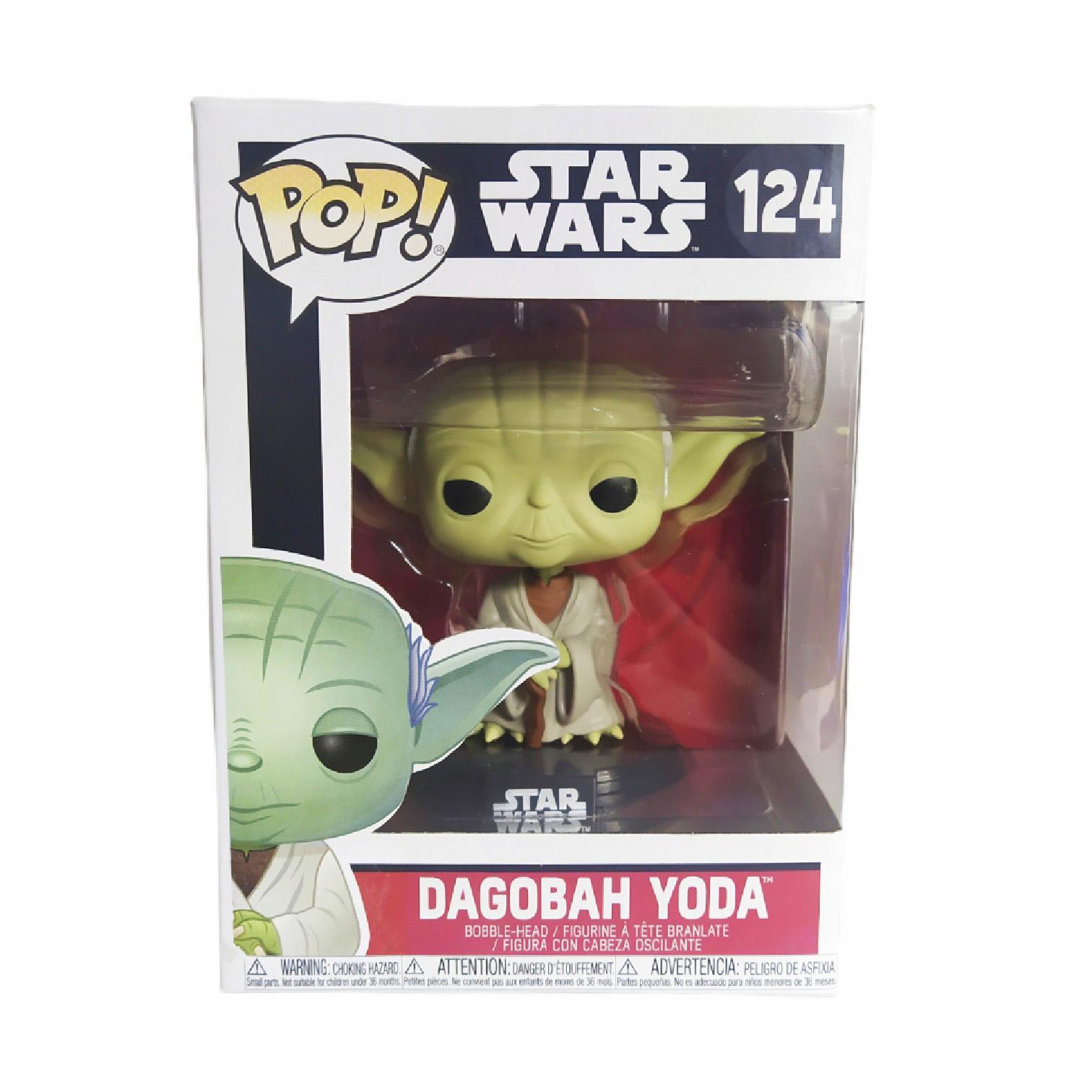 Funko POP - Figura de Vinil Dagobah Yoda - Star Wars - 124