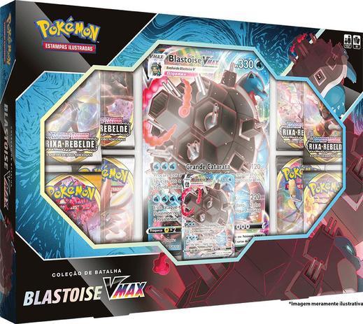 Jogo de Cartas Pokémon Cartas Ilustradas Blastoise V Max