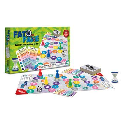 Jogo Fato ou Fake - Nig Brinquedos