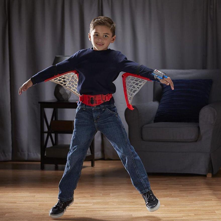 Kit Lançador Asas de Teia Spider Man 6 peças Marvel - Hasbro