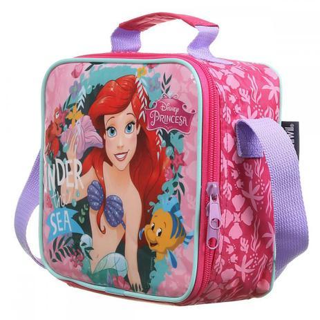 Lancheira Soft Princesa Ariel Disney - Dermiwil