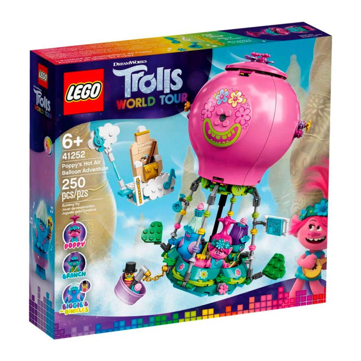 LEGO Trolls - Word Tour - A Aventura no Balão de Poppy - 41252