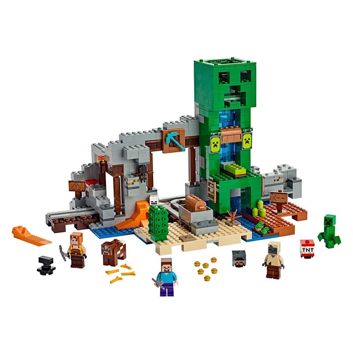 LEGO A MINI DE CREEPER MIN
