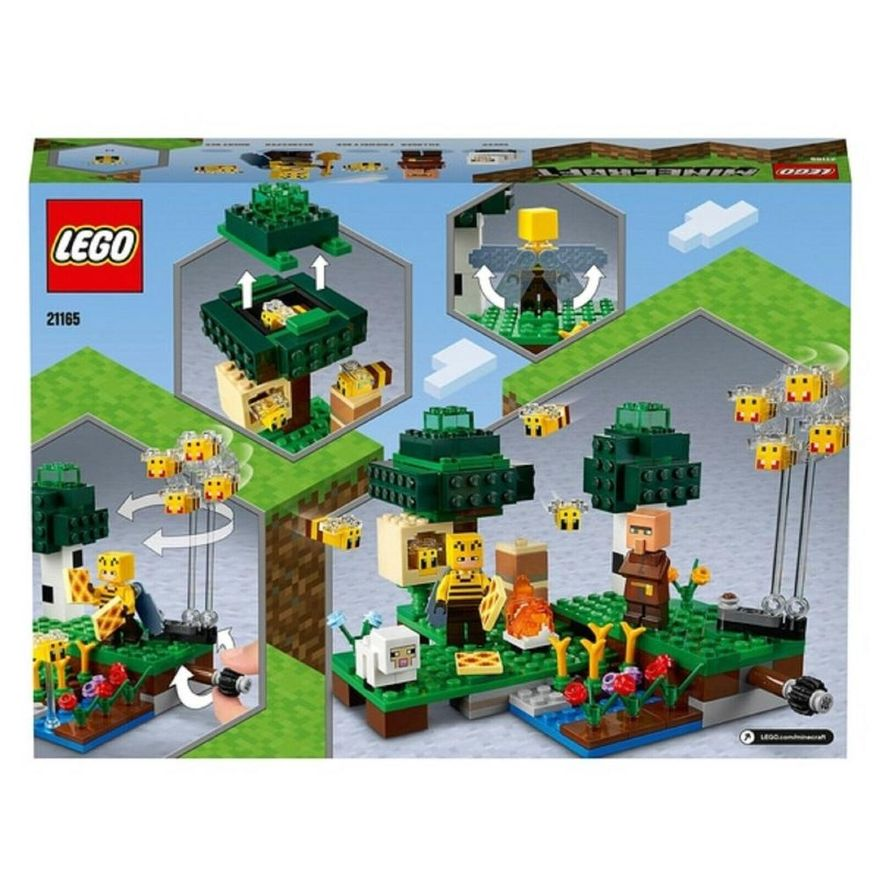 Lego Minecraft The Bee Farm 238 peças - 21165
