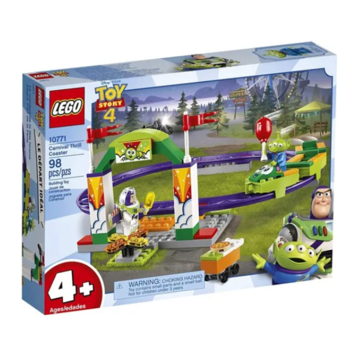 LEGO Juniors Disney - Toy Story 4 - Montanha Russa Emocionante - 10771