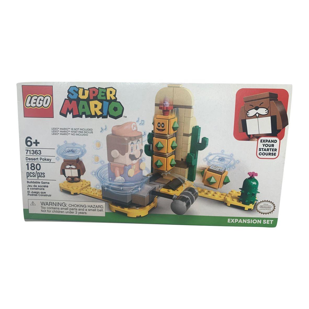 Lego Super Mario Desert Pokey 180 peças