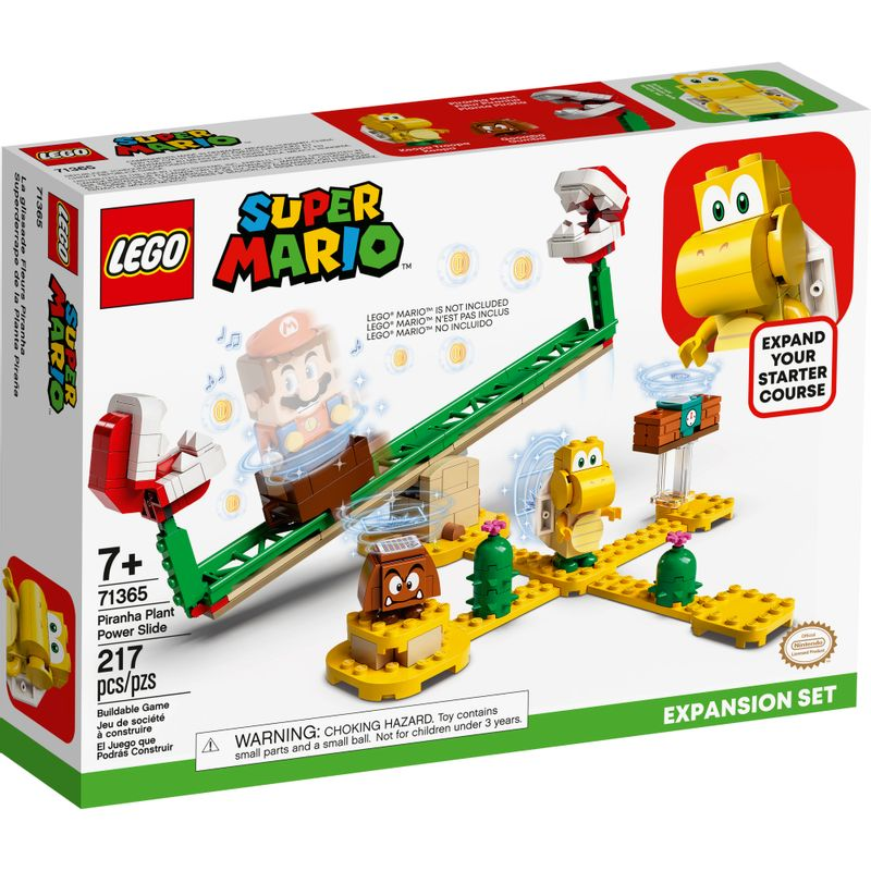 LEGO Super Mario - Pacote De Expansão - Derrapagem da Planta Piranha - 71365