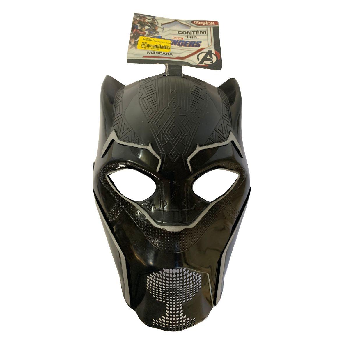 Máscara Pantera Negra Avengers - Regina Festas