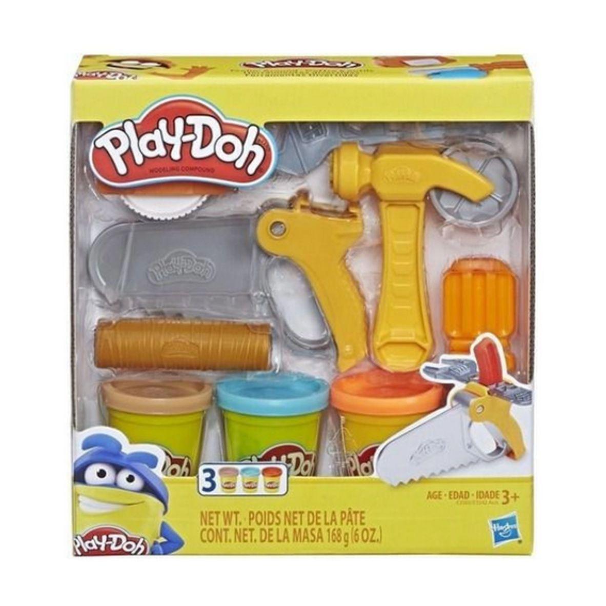 Massinha de Modelar Play Doh Ferramentas de Construção