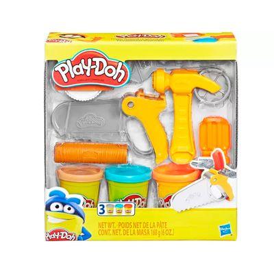 Massinha de Modelar Play Doh - Ferramentas de Construção - Hasbro