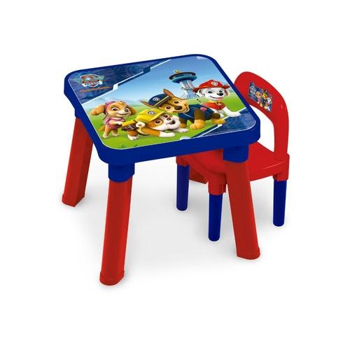 Mesa com Cadeira da Patrulha Canina - Fun