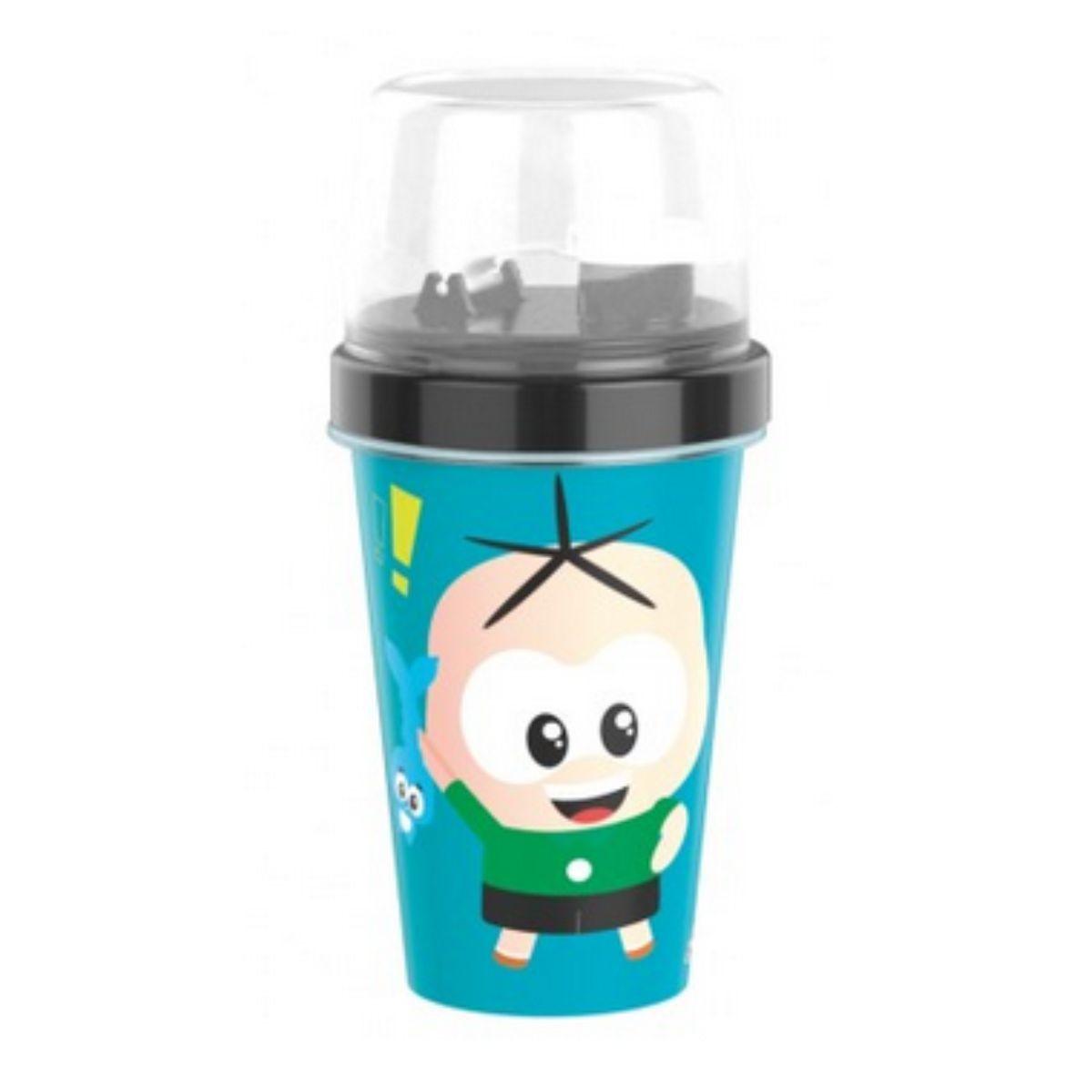 Mini Shakeira Cebolinha 320 ml - Plasútil