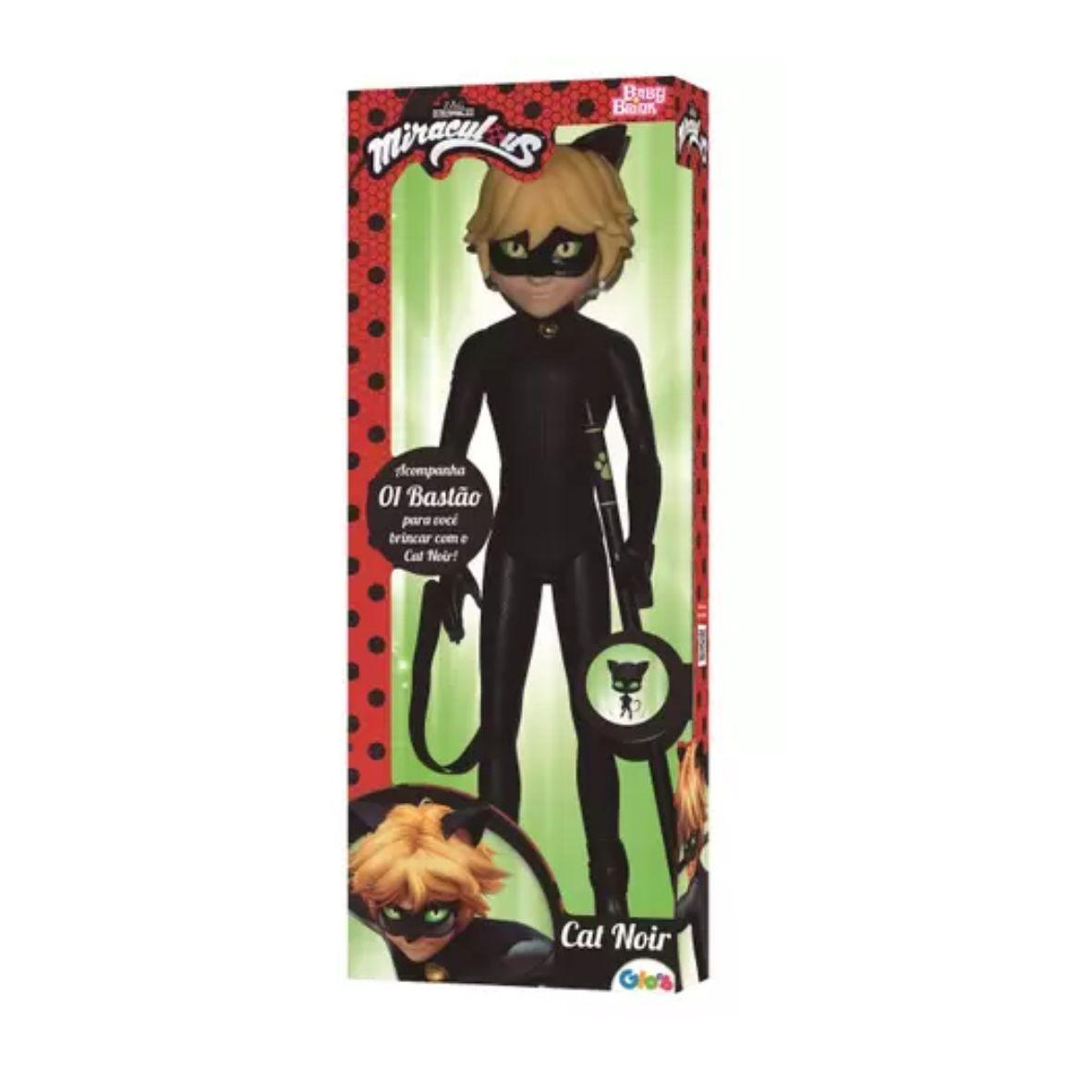 Boneco Miraculous Cat Noir 55 cm - Baby Brink
