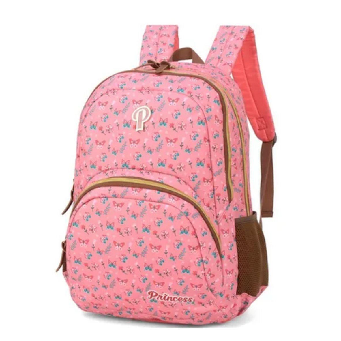 Mochila para Notebook Rosa Princess Borboleta - Max Logo