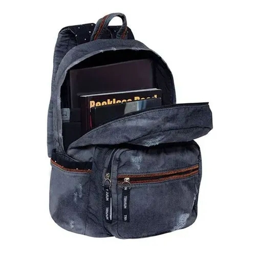 Mochila Trivium para Notebook Jeans Blue - TN
