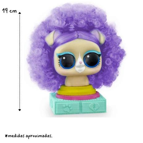 Pet Lol Suprise Styling Hair com 5 Acessórios - Pupee