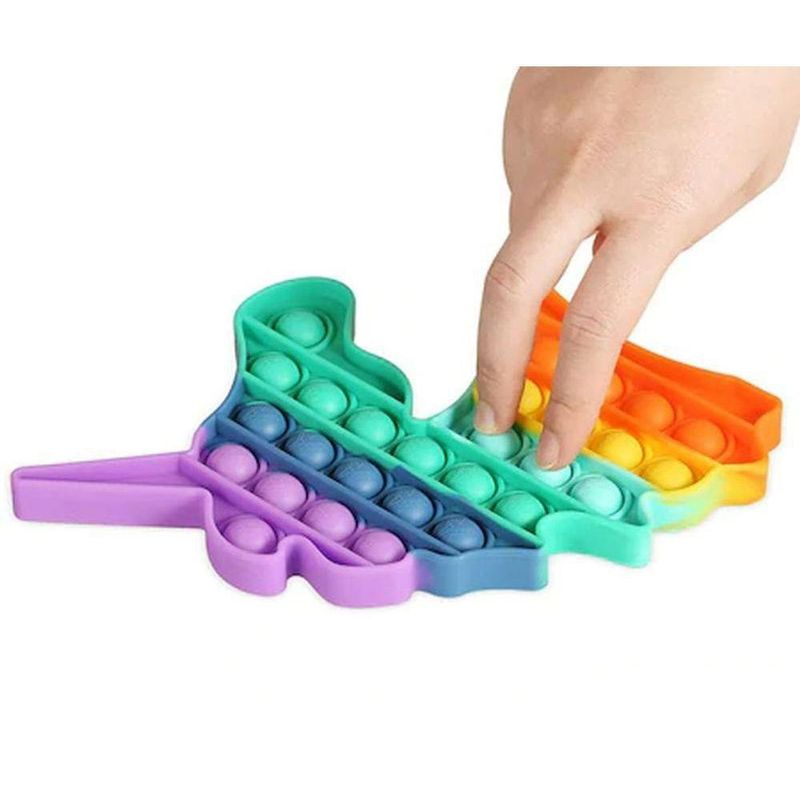 Pop Fun Unicórnio Arco-Íris 100% Silicone - Yes Toys