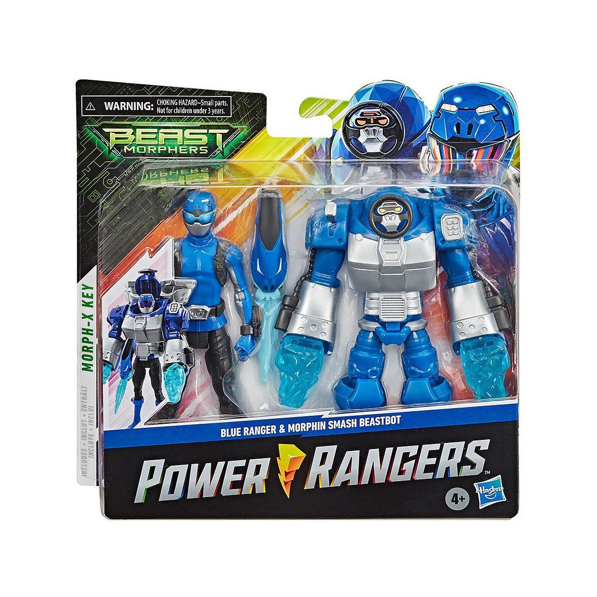 Boneco Power Rangers Blue Ranger e Beastbot - Hasbro
