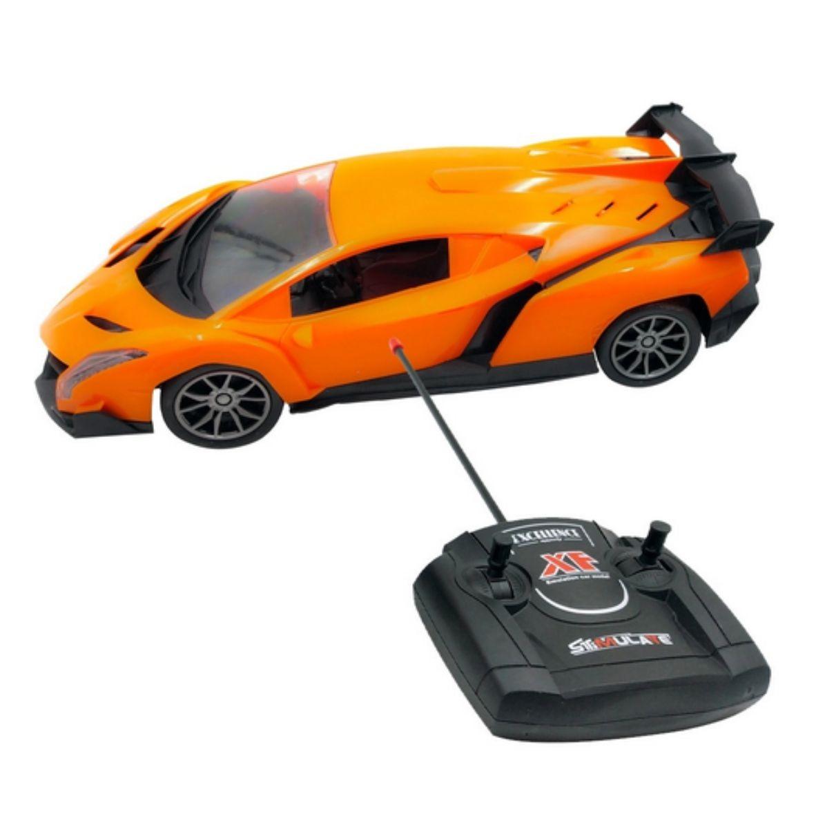Carro de Controle Remoto - Racing Control Nitro - Multikids