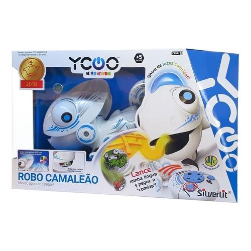 Robô Camaleão com Controle Remoto - DTC Toys