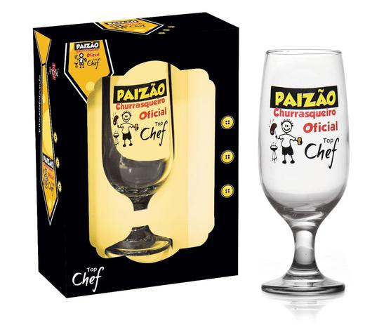Taça 300 ml Paizão Churrasqueiro Oficial Top Chef - Art&Bel