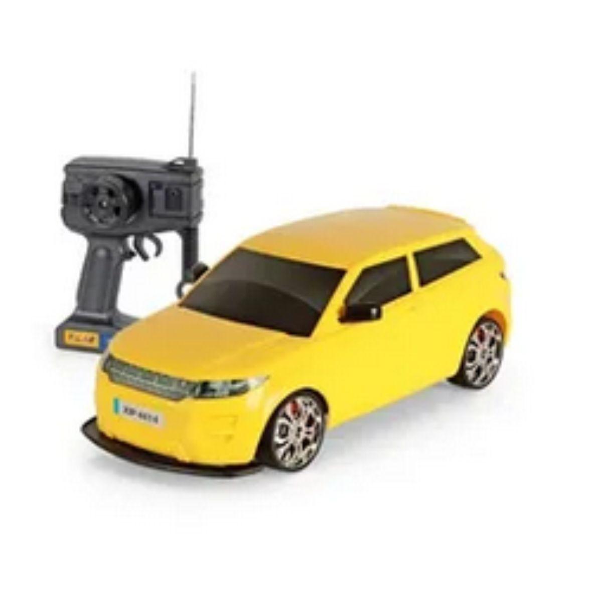 Carrinho de Controle Remoto Tiger Car Amarelo - XPlast