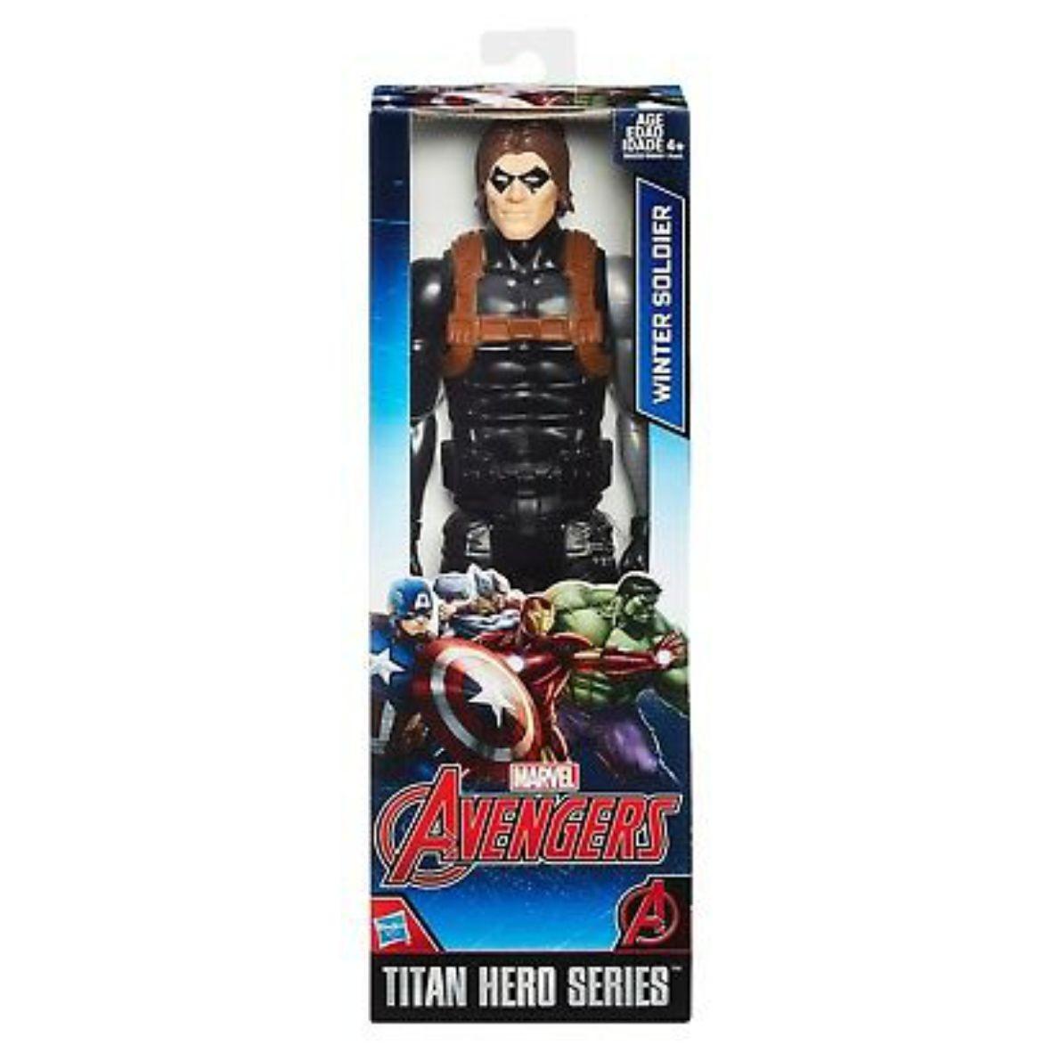 Boneco Articulado Titan Hero Series Winter Soldies 30c m - Hasbro
