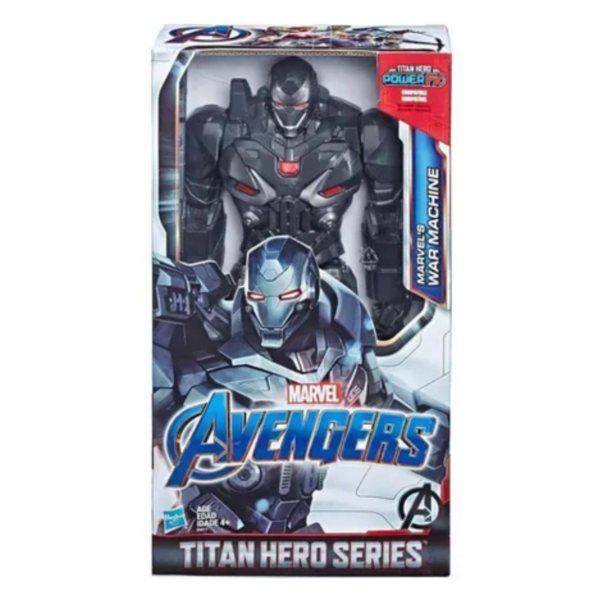 Boneco Articulado Titan War Machine Power FX Avengers - Hasbro