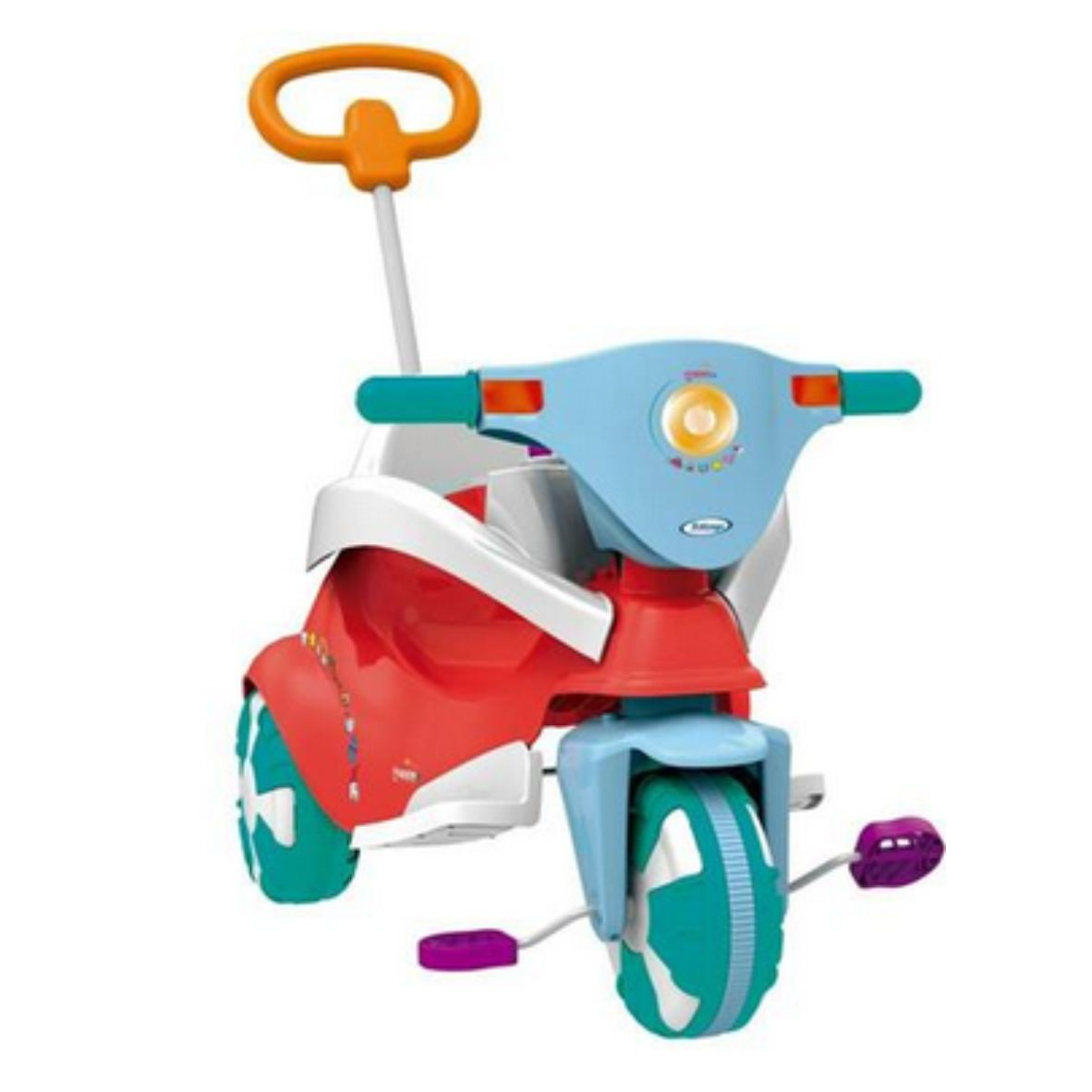 Triciclo Happy Red 3 em 1 - Xalingo