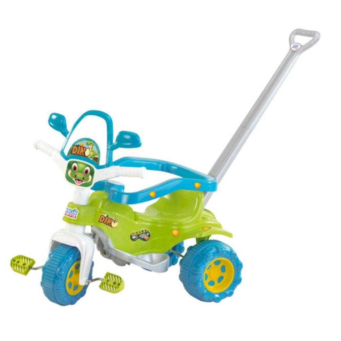 Triciclo Tico Tico Dino Verde - Magic Toys