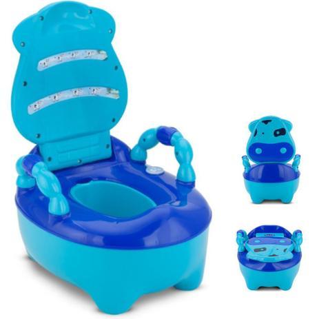 Troninho Musical Infantil Azul - Mitro