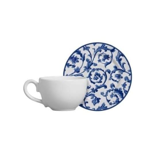 Xícara de Chá com Pires Ramalhete - Alleanza