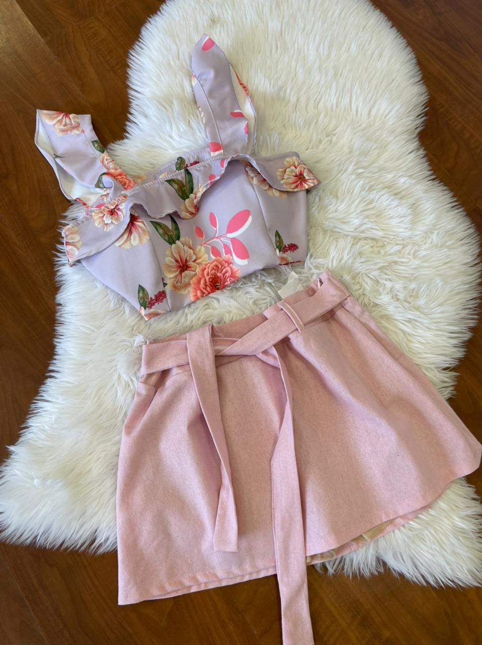 CROPPED FLORAL IN LOVE