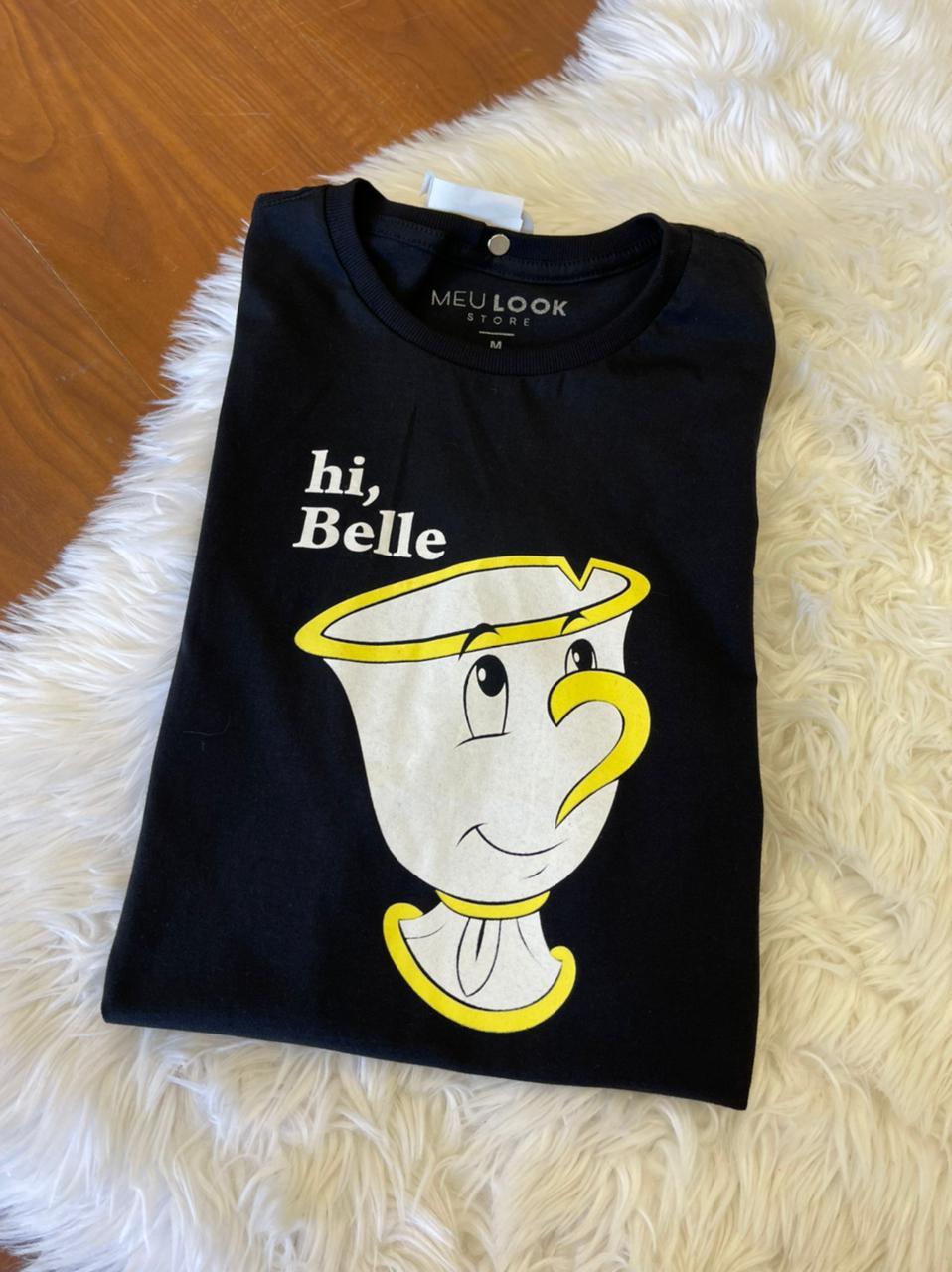 T SHIRT HI, BELLE